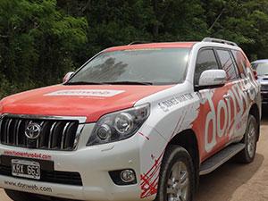 Toyota prado Dakar 2014